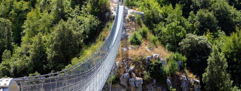 ponte tibetano valli del pasubio