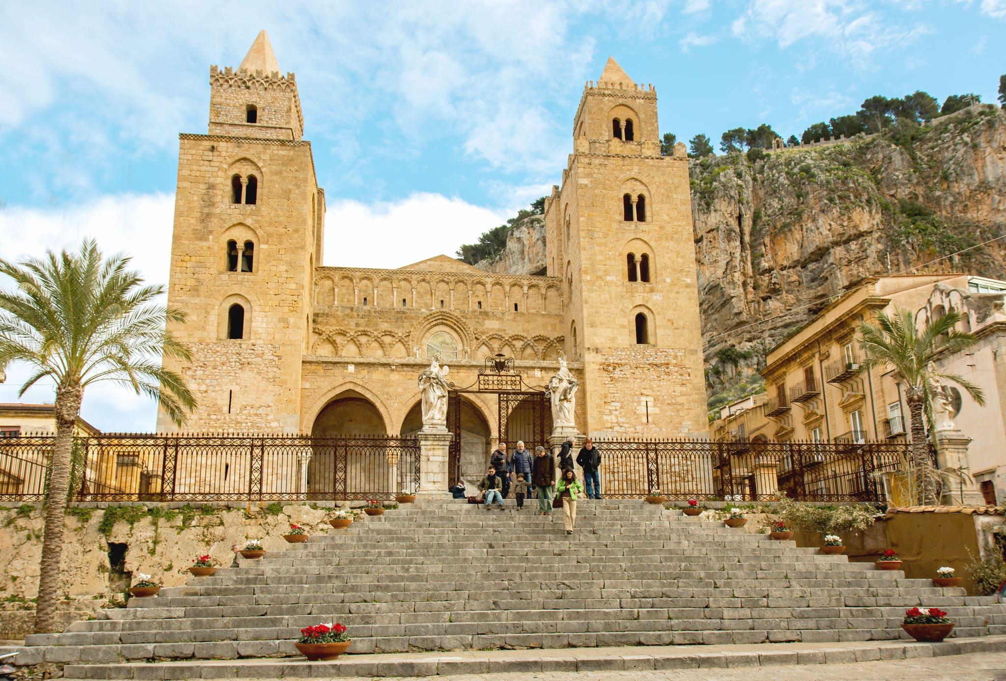 orari e composizione del Duomo di Cefalù
