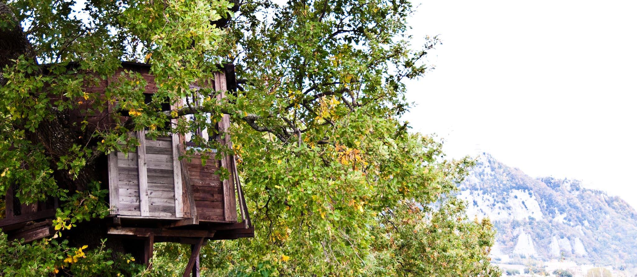 casa sull'albero Piemonte