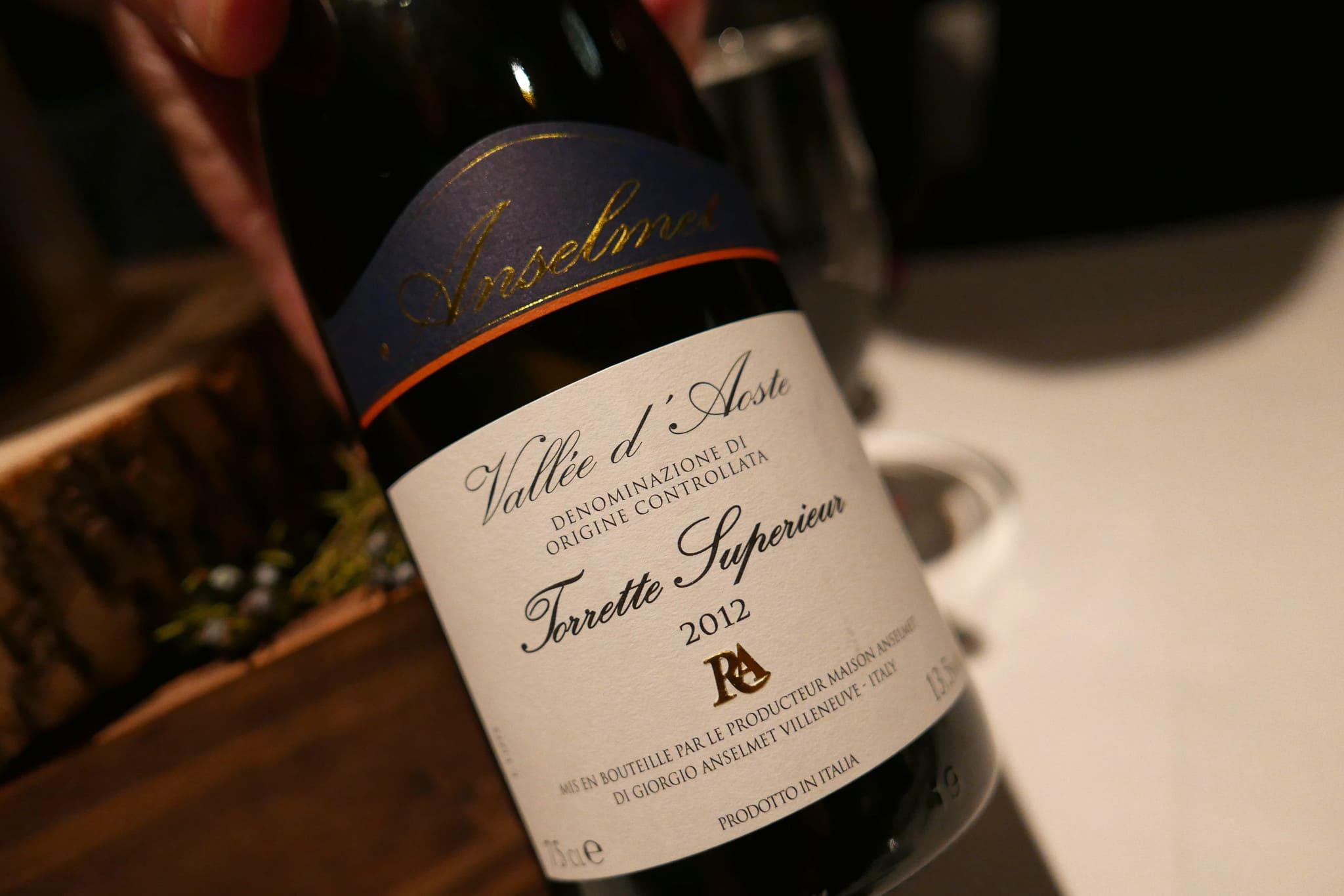 vino tipi della valle d'aosta