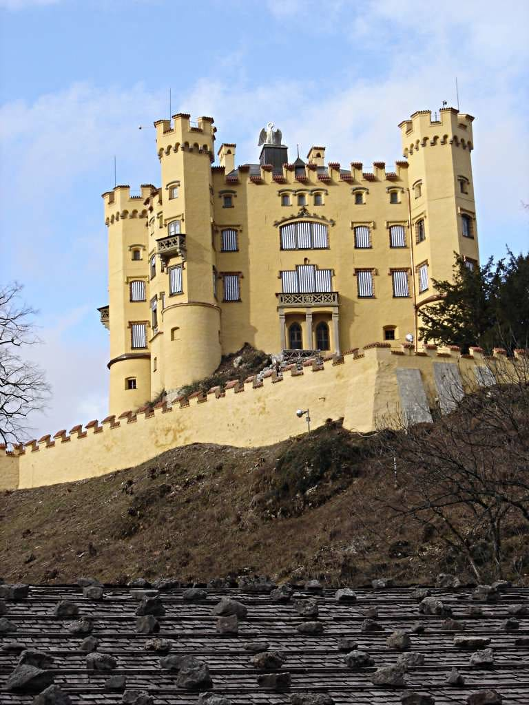 La storia del castello di hohenschwangau