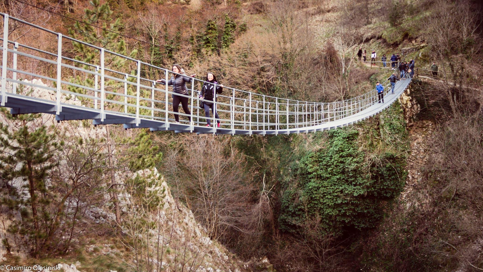 ponte tibetano di verona e Marano
