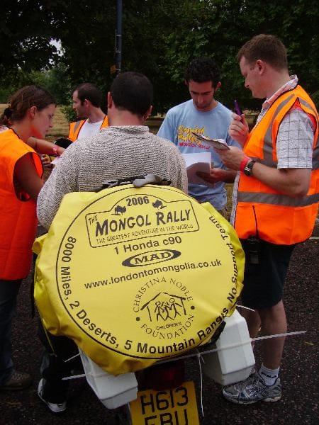 Mongol Rally Italia