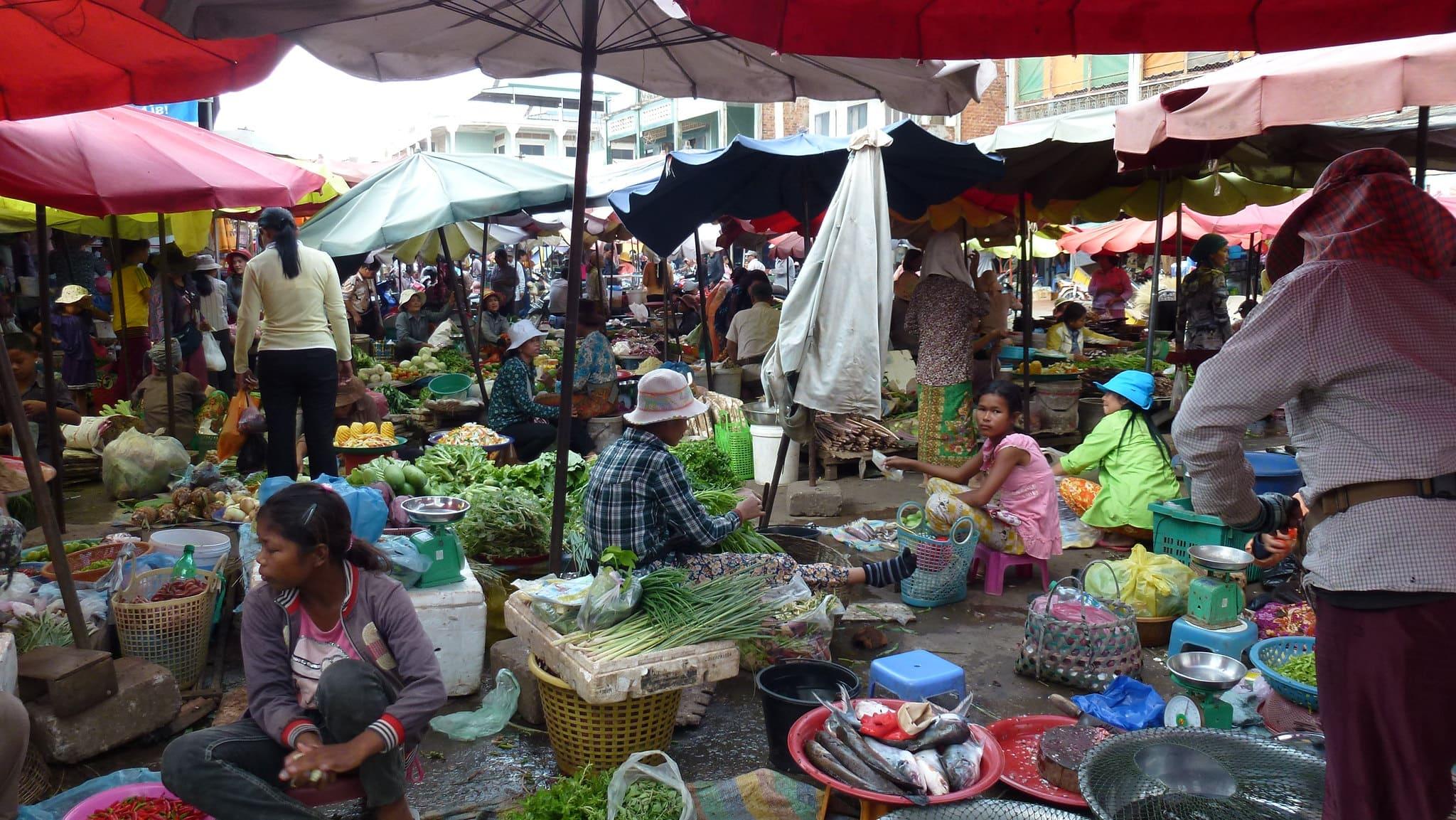Abitanti cambogia